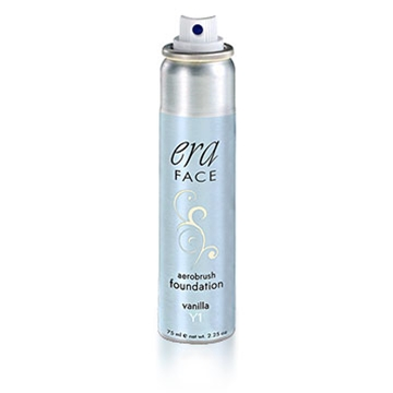 Era Face Spray on Foundation, Spray on foundation, Airbrush, aerosol makeup